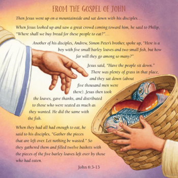 The Miracle of the Bread, the Fish, and the Boy by Anthony DeStefano