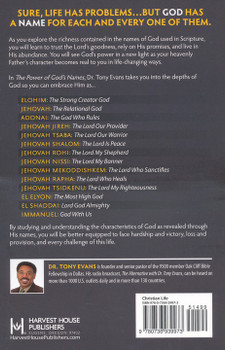 The Power of God's Names by Tony Evans. Sure, Life has problems... but God has a Name for each and every one of them.