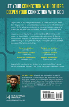 Horizontal Jesus by Tony Evans.  How Your Connection with Others Deepens Your Relationship with God