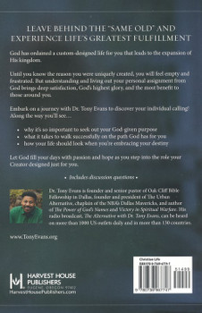 Discover Your Destiny by Tony Evans: Let God Use You Like He Made You
