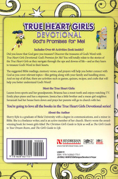 True Heart Girls Devotional: God's Promises for Me! by Sherry Kyle for Ages 8-12