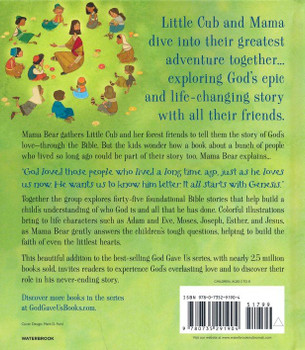 God Gave Us the Bible: 45 Favorite Stories for Little Ones by Lisa Tawn Bergren(Hardcover) for Ages 3-7
