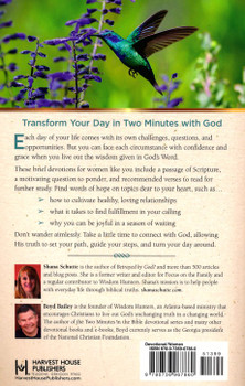 Two Minutes in the Bible for Women: A 90-Day Devotional by Shana Schutte with Boyd Bailey