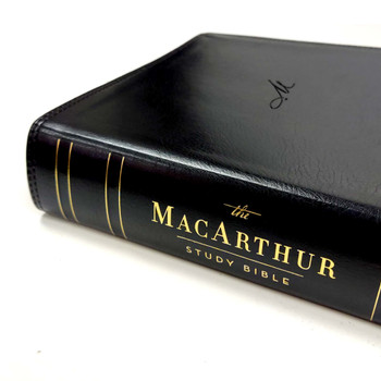 NKJV The MacArthur Study Bible(2nd Edition), Black Leathersoft - Unleashing God's truth one verse at a time.