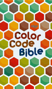 NKJV The Color Code Bible(Hardcover) - Color highlights  over 1'600 passages on important topics (Ages 6 -11)