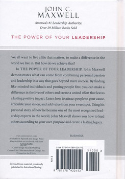 The Power of Your Leadership: Making a Difference with Others(Hardcover) by John C. Maxwell