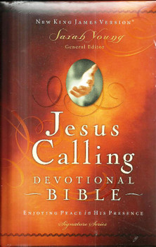 NKJV Jesus Calling Devotional Bible: Enjoying Peace in His Presence (Padded Hardcover)