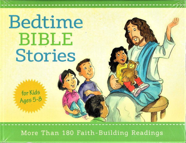 Bedtime Bible Stories - More than 180 faith building readings - for ages 5-8.