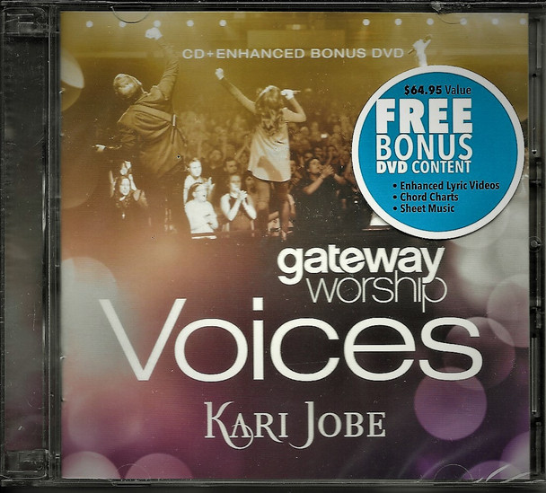 Voices - Gateway Worship / Kari Jobe. Includes enhanced Bonus DVD content worth US$64.95 value