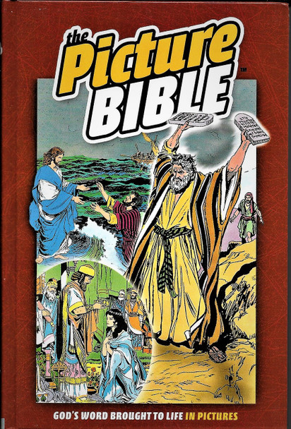 The Picture Bible - God's Word brought to life in Pictures. Old and New Testament.
