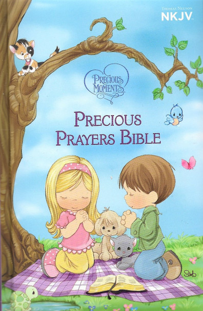 NKJV Precious Prayers Bible - Precious Moments.