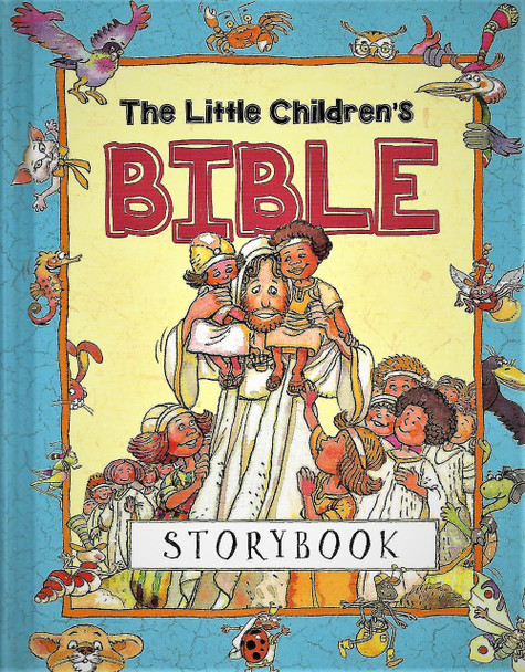 The Little Children's BIBLE Storybook - for ages 3-7.