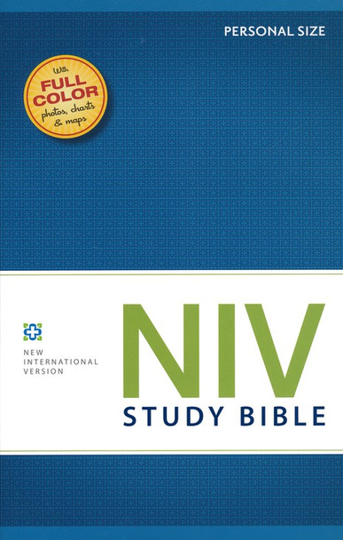 NIV Study Bible: Personal Size-Softcover Color on every page