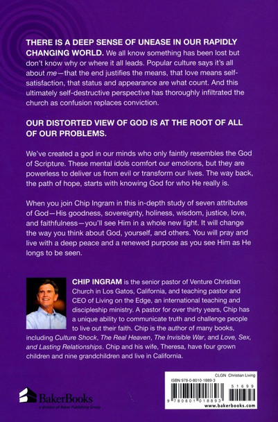 The Real God by Chip Ingram. How He Longs for You to See Him