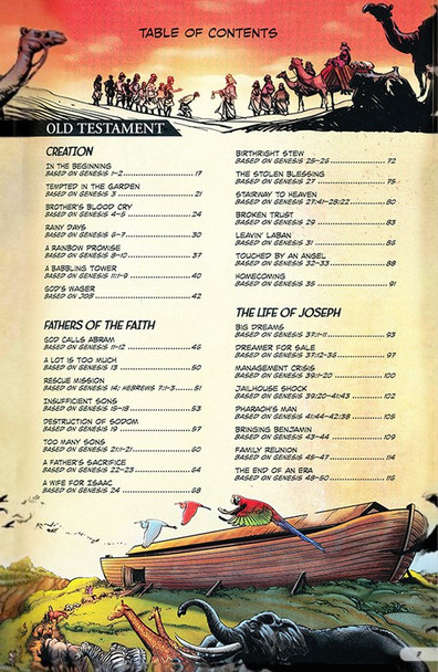 The Action Bible(Ages 8-12) with New & Expanded Stories(Hardcover)