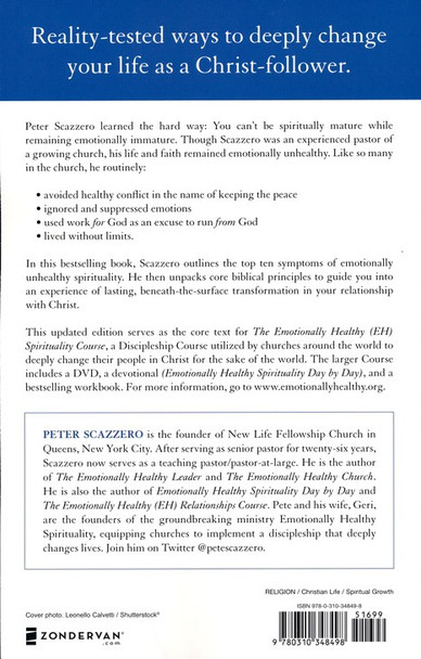 Emotionally Healthy Spirituality(Updated Edition) by Peter Scazzero