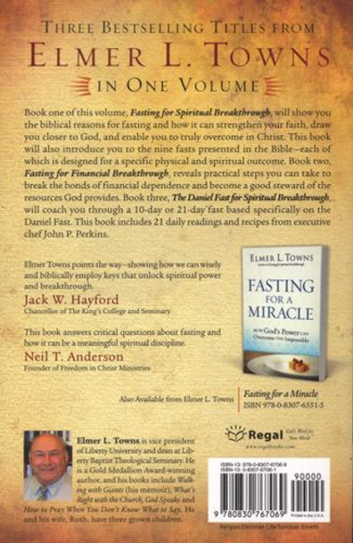 The Breakthrough Guide to Fasting 3-in-1 (Paperback) by Elmer L. Toens