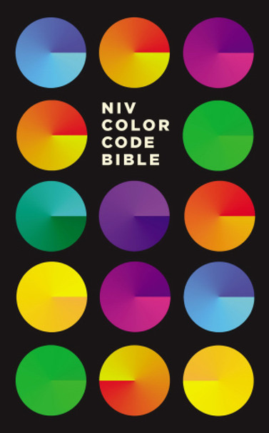 NIV Color Code Bible-Hardcover by Thomas Nelson