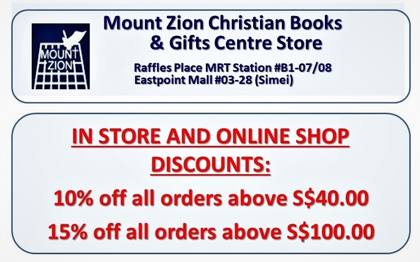 Mount Zion Christian Books & Gifts Centre in Singapore