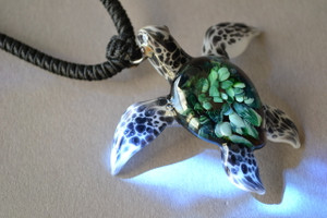 Logger head Sea Turtle Pendant