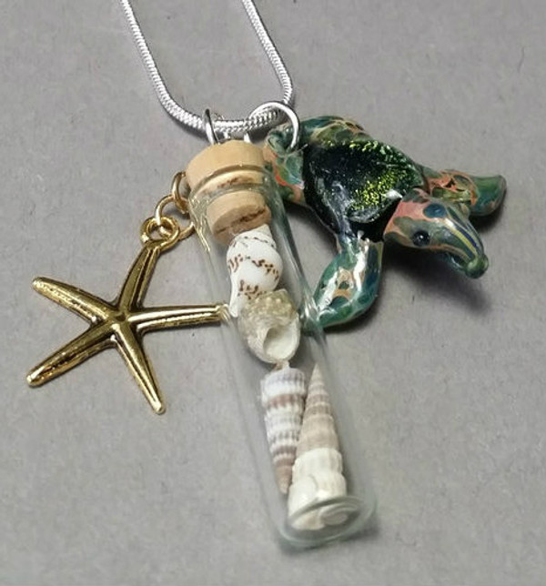 Sea Turtle pendant from Sea and Sun Collection