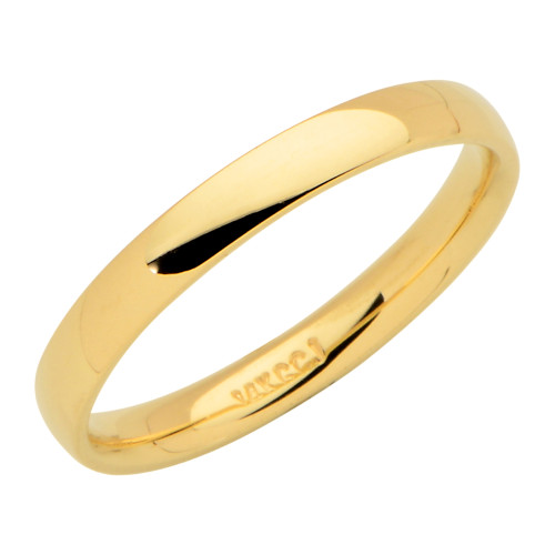 14KT Yellow Gold 3MM Wedding Band