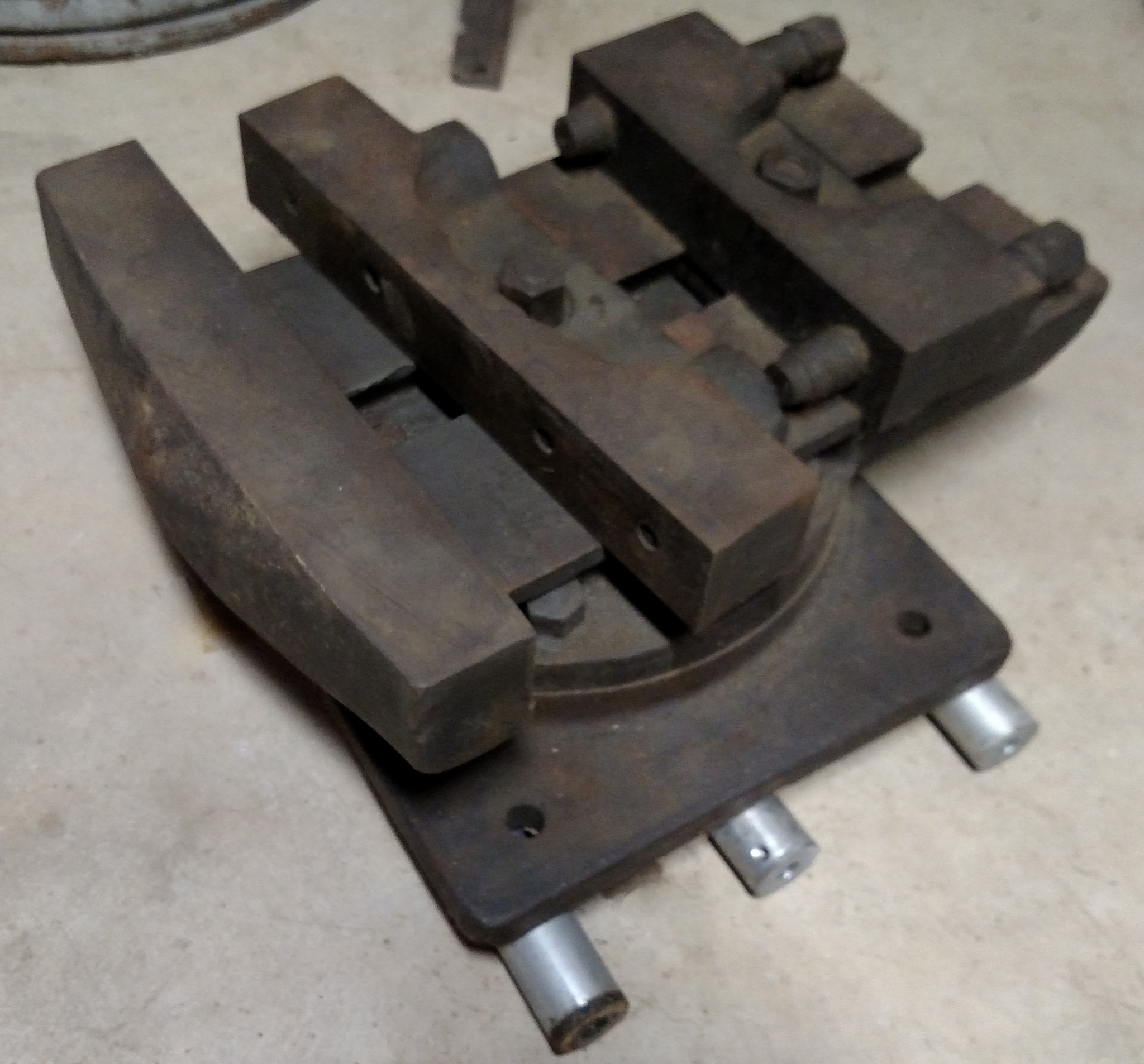 REALLY BIG MACHINE SHOP VISE, for a Mill, Shaper, Mold Maker