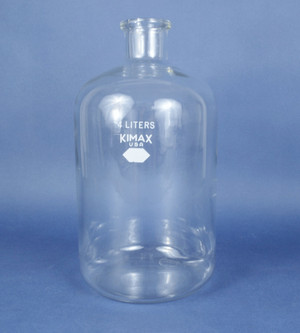 Kimble Kimax 4L Laboratory Glass KG-33 Heavy Duty Serum Bottle 4000ML 14960-4