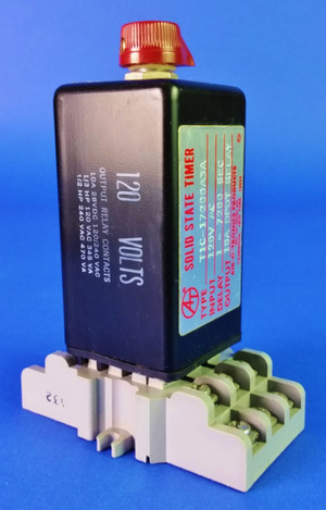 Air-O-Tronics TIC-17200A3A Solid State Timer 1-7200 Sec Delay 10A Output Relay