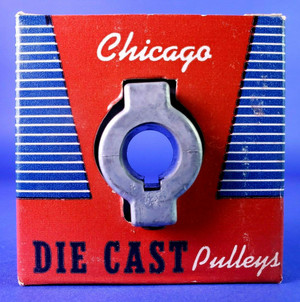 "Chicago Die Cast 300-A-108 Pulley 5/8"" Bore 3"" Diameter A Belt  NEW MADE IN USA!"