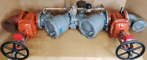"""FEBCO 8"""" 826YD Reduced Pressure Detector Assembly for Automatic Fire Sprinkler Systems"""