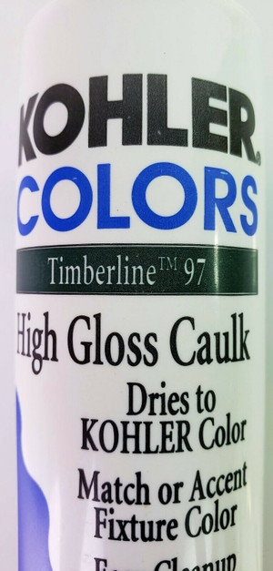 KOHLER COLORS CAULK Timberline Green 97 High Gloss Matches Kohler Fixture Color!