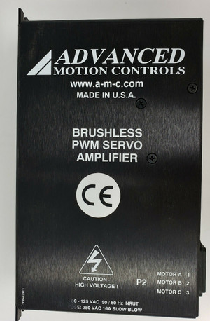 Advanced Motion Controls Brushless PWM Servo Motor 30-125VAC B25A20FACQ, NEW!