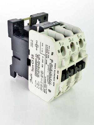 Danfoss CI 25 Contactor 037H005138 - 38 415V/50Hz-500V/60Hz Max. 25A/11kW/3 NEW!