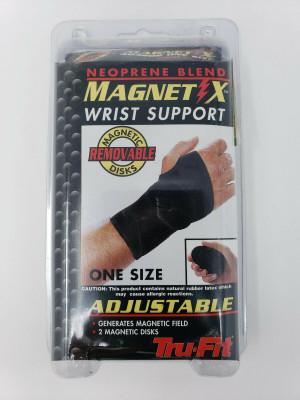 NEW TRU-FIT Neoprene Blend MAGNET X Wrist Support 483202 OSFA Adjustable Closure