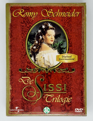 Die Sissi Trilogie DVD REGION 2 Pal Nederlands Digital Remastered Excellent Cond