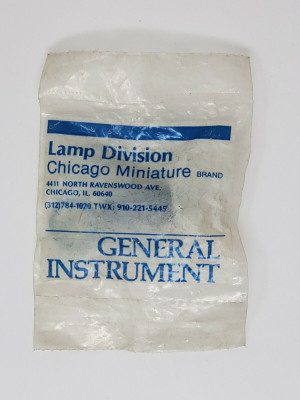 Chicago Miniature General Instrument CMLW 5100-834 Indicator Light Switch New