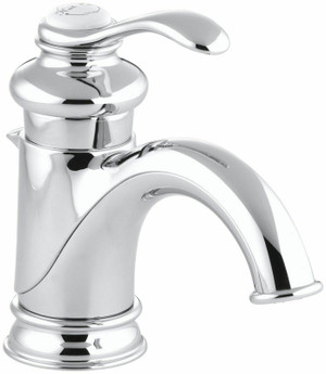 Kohler K-12182-CP Polished Chrome Fairfax Single Control Lavatory Faucet, NEW