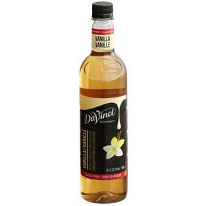 DaVinci Gourmet Classic Vanilla Syrup, 25.4 oz. 750 mL Plastic Bottle