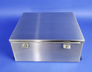 HOFFMAN ENCLOSURE A-1412CHNFSS Stainless Junction Box 14x12x6, Type 4, 4X. 12