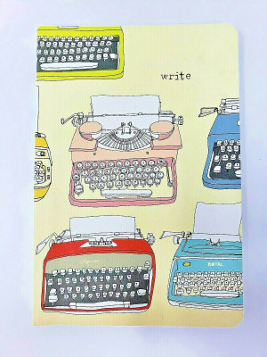 JULIA ROTHMAN TYPEWRITER ECO-JOURNAL Excellent Condition NEW!