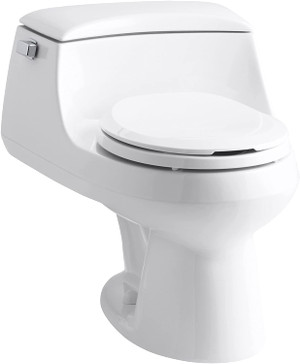 KOHLER K-3467-0 San Raphael® 1.28 gpf Elongated One Piece Toilet, Left-Hand Lever