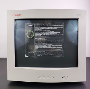 "COMPAQ CRT COLOR 17"" MONITOR S710, Brand New! Out of Box"