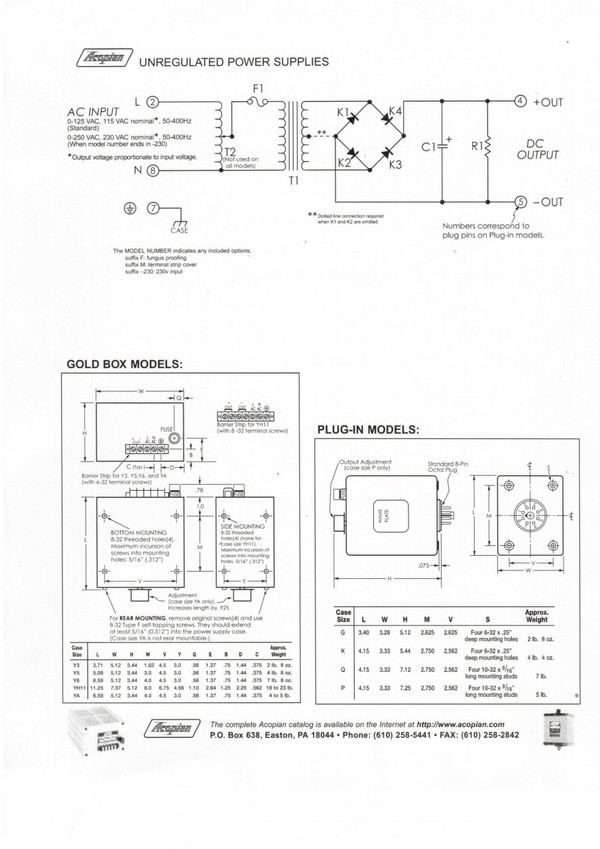 Tedea Huntleigh Load Cells 1010-F-50 Manufacturer's Specifications