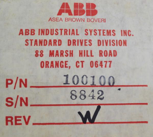 ABB Panametrics 100100 Box