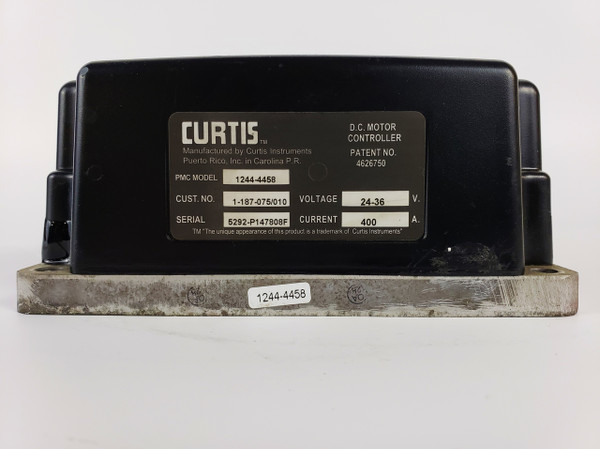 Curtis 1244-4458 SepEx DC Motor Controller, 3 Available