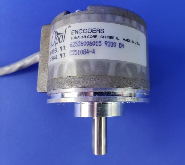 Danaher Dynapar Opal Encoder HC62536006015 HC25 3/8 Shaft 2.50 Servo Mount