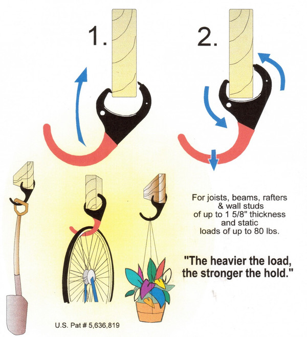 Lumb-R-Grip Joist Hanger Applications