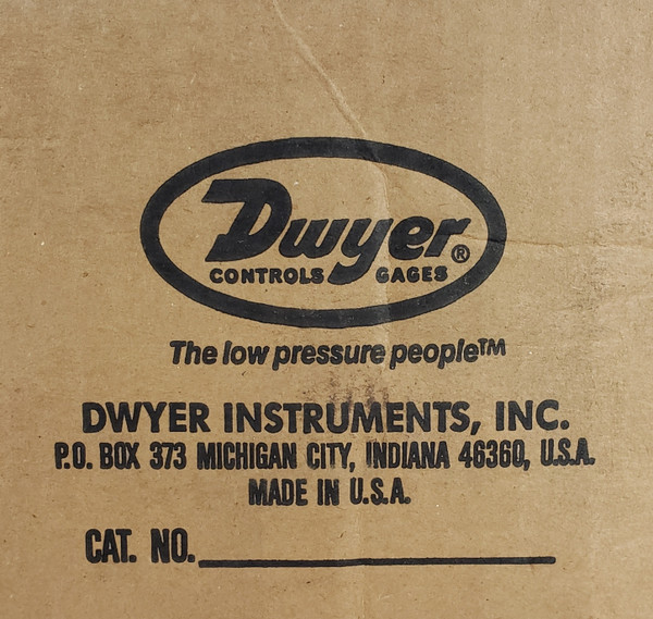 Dwyer 1638-0 Large Diameter Pressure Switch