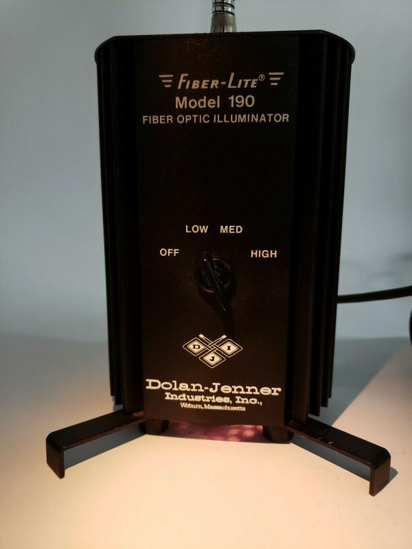 Dolan-Jenner 190 Fiber-Lite FIBER OPTIC ILLUMINATOR, Excellent Condition, NICE!!